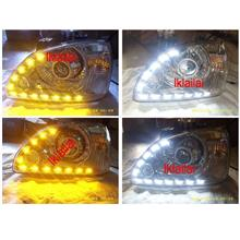 Naza Citra Crystal Head Lamp With 2-Function DRL R8 [No Projector]