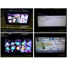 Android Double Din Touch Screen DVD Player with GPS Bluetooth USB