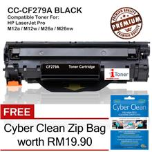 HP 79A CF279A Grade-A Compatible Toner + FREE Cyber Clean Zip Bag