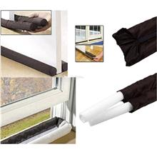 Twin Door Draft Dodger Guard Stopper For Doors Windows Protector Doors