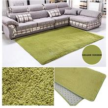 Fiber House Living Room Bedroom Carpet Anti-Skid Shaggy Area Rug Floor