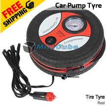 Portable Auto Car Tire Tyre Pump Inflatable Mini Air 12V