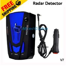 New Car Radar Detector 16 Band Voice Alert Laser V7 LED Display