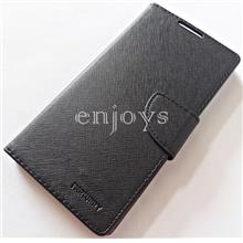 MERCURY Fancy Diary Stand Case Cover Sony Xperia C3 /D2533 ~BLACK *XPD