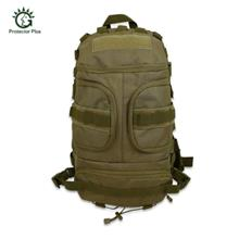 Protector Plus 35L Outdoor Cycling Climbing Military Backpack (GREEN BROWN)