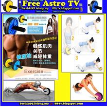 Breast Enhancement Double Gym Roller Revoflex Exercise AB Wheel Fast f