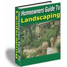 Homeowners Guide to Landscaping ( Worth : $24.97 )