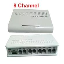 8CH Voice Activated USB Telephone Recorder (WGM-15).