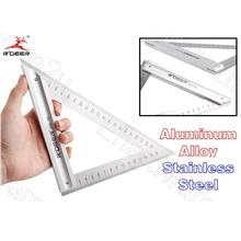 Aluminum Alloy With Stainless Steel Triangle Ruler 280mm (RSE-180)