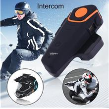 BT-S2 1000m Waterproof Motorcycle Helmet Bluetooth Headset Motorbike I