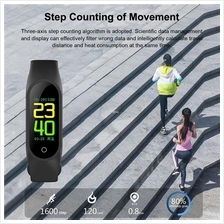 M3 Smart Bracelet Heart Rate Blood Pressure Monitor Sports Pedometer W