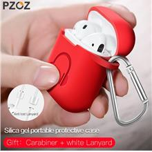 PZOZ Earphone Case For Apple Airpods strap Soft Silicone headphone