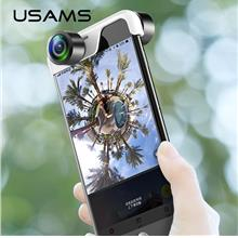 USAMS HD Mobile phone Lens 360 Panoramic Camera Lens for iPhone X 8 7