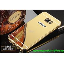 Samsung Galaxy Note 2 3 4 5 Mirror Metal Bumper Back Case Cover Casing