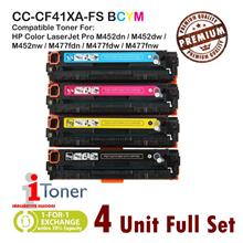 HP 410A CF410A + CF411A + CF412A + CF413A (4 Unit Full Set)