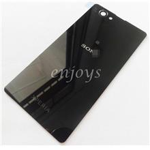 NEW HOUSING Battery Back Cover Sony Xperia Z1 Compact D5503 ~BLACK