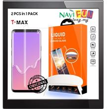 ★T-Max Case Friendly UV Tempered Glass Samsung S8/S9 Plus Note 8