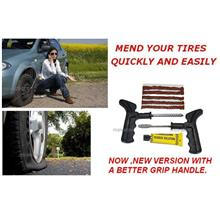 NEW:Car/Bike Tire Tubeless Tyre Tire Puncture Instant D.I.Y Repair Kit