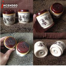 **incendeo** - SOVEREIGN HILL Ceramic Pepper and Salt Shakers