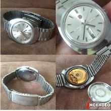 **incendeo** - Vintage RADO Conway Stainless Steel Automatic Watch