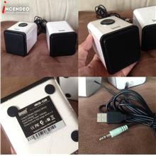 **incendeo** - Divoom Cube Active Stereo USB Speakers IRIS-02