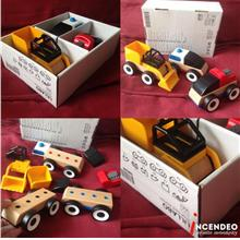 **incendeo** - IKEA LILLABO Wooden Toy Cars Set