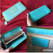 **incendeo** - Authentic MORGAN Genuine Leather Long Purse for Ladies