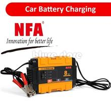 NFA Smart Charger Car & Motorcycle Jump Jumper Battery Charger 12V 8A