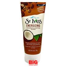 ST IVES ENERGIZING COCONUT & COFFEE FACE SCRUB 170G