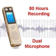 80 Hours Voice Recorder (WVR-08A).