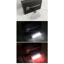 Toyota Landcruiser FJ200 Camry Prius 10- LED Door Lamp w Red Blinker
