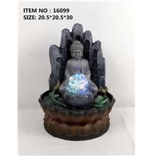 WATER FOUNTAIN - BUDDHA 16099 FENG SHUI WATER FEATURES FOUNTAINS