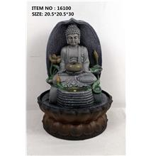 WATER FOUNTAIN - BUDDHA 16100 FENG SHUI WATER FEATURES FOUNTAINS