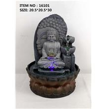 WATER FOUNTAIN - BUDDHA 16101 FENG SHUI WATER FEATURES FOUNTAINS