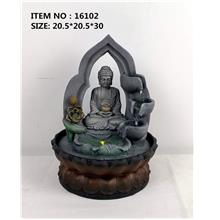 WATER FOUNTAIN - BUDDHA 16102 FENG SHUI WATER FEATURES FOUNTAINS