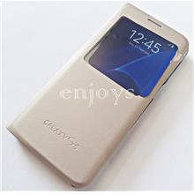 GOLD S View Flip Cover Hard Case Samsung Galaxy S8 /G950F (5.8) *XPD
