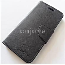 MERCURY Fancy Diary Case Cover Samsung Galaxy A5 (2017) ~BLACK *XPD