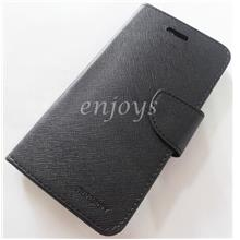 MERCURY Fancy Diary Case Cover Asus ZenFone Go 5.5 /ZB551KL BLACK *XPD