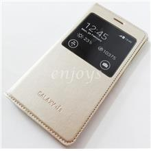 GOLD S View Case Flip Battery Cover Samsung Galaxy J5 /J500F *XPD