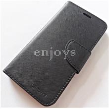 MERCURY Fancy Diary Stand Case Cover Huawei P10 Lite (5.2) ~BLACK *XPD