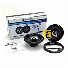 SOUNDSTREAM RX.652 6.5 3 Way Coaxial Car Speakers 40W RMS
