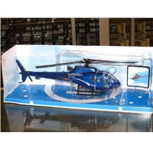 New Ray 1/43 Diecast Helicopter Eurocopter AS350 B2 Blue (10')