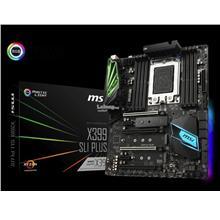 MSI MOTHERBOARD AMD TR4 X399 SLI PLUS