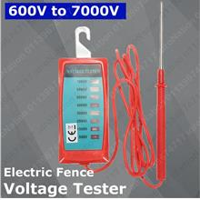 7000V Voltmeter Electric Fence Controller Voltage Tester Analyzer Meas