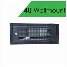 4U Wallmount Server Rack c/w 3 power socket