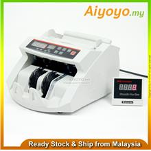 Banker Cash Money Notes Counter Count Bill Machine Bank Ringgit UV 3Pin