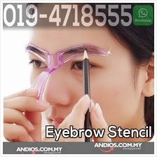 Eyebrow Template Stencil Grooming Shaping Tool