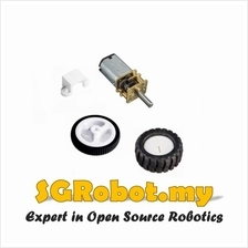 Arduino N20 Micro Metal Gear Motor Set for 2WD 4WD Robot