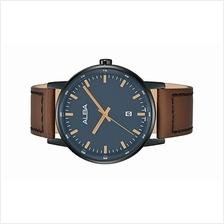 Alba Men Brown Leather Strap Date Watch VJ32-X270BRGL