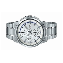 Casio Men Multi Hand Stainless Steel Dress Watch MTP-E317D-7AVDF
